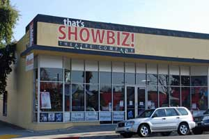 That's showbiz Theatre Company store in Stockton, CA
