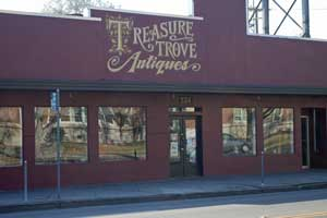 Treasure Trove Antiques on the Miracle Mile, Stockton, CA